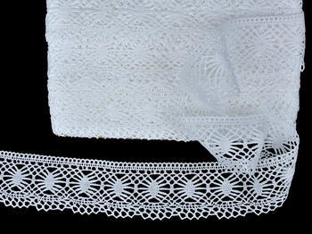 Bobbin lace No. 82125 white | 30 m - 5