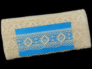 Bobbin lace No. 82128 ecru| 30 m - 5