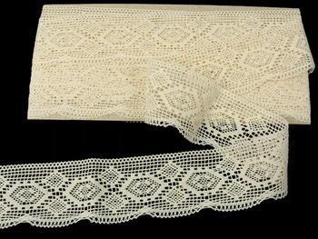 Bobbin lace No. 82132 ecru | 30 m - 5
