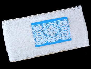Bobbin lace No. 82147 white | 30 m - 5