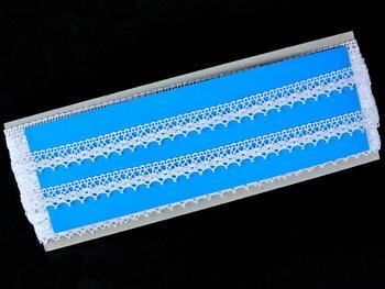 Bobbin lace No. 82154 white | 30 m - 5