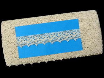 Bobbin lace No. 82158 ecru | 30 m - 5