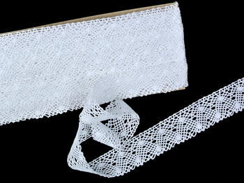 Bobbin lace No. 82198 white | 30 m - 5