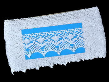 Bobbin lace No. 82213 white | 30 m - 5