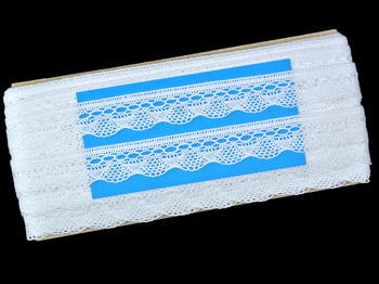 Bobbin lace No. 82216 white | 30 m - 5