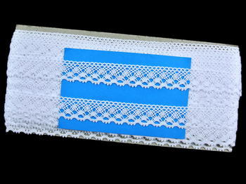 Bobbin lace No. 82222 white | 30 m - 5