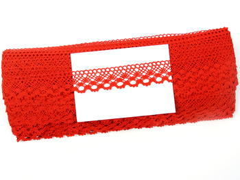 Bobbin lace No. 82222 red | 30 m - 5