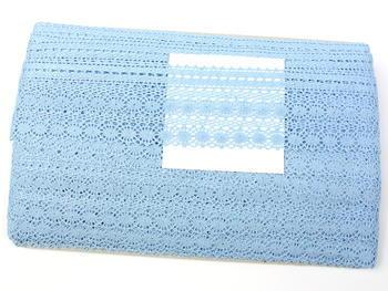 Paličkovaná krajka vzor 82240 světle modrá II. | 30 m - 5
