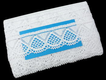 Bobbin lace No. 82283 white | 30 m - 5