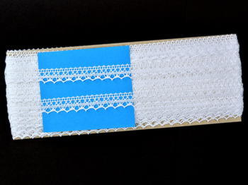Bobbin lace No. 82302 white | 30 m - 5