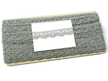 Bobbin lace No. 82307 silver | 30 m - 5