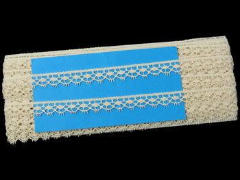 Bobbin lace No. 82322 ecru | 30 m - 5