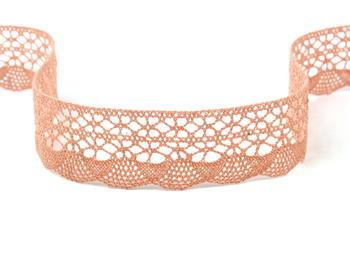 Bobbin lace No. 75077 salmon pink | 30 m - 6
