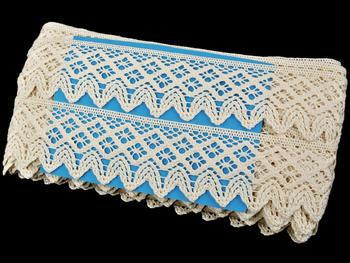 Bobbin lace No. 75234 ecru | 30 m - 6