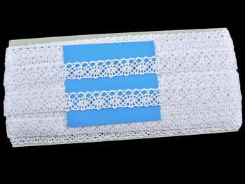 Bobbin lace No. 75244 white | 30 m - 6