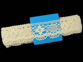 Bobbin lace No. 75253 ecru | 30 m - 6