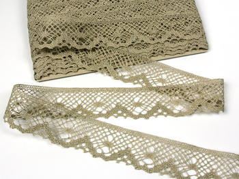 Bobbin lace No. 75261 natural linen | 30 m - 6