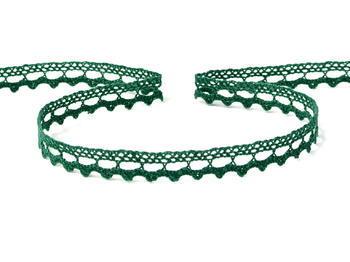 Bobbin lace No. 75397 dark green | 30 m - 6