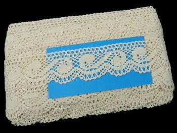 Bobbin lace No. 75566 ecru | 30 m - 6