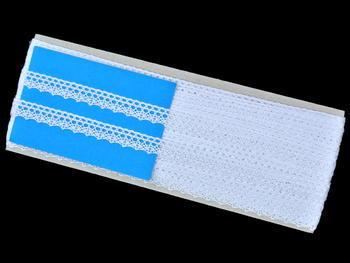 Bobbin lace No. 75569 white | 30 m - 6