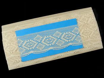 Bobbin lace No. 82132 ecru | 30 m - 6