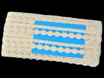 Bobbin lace No. 82138 ecru | 30 m - 6