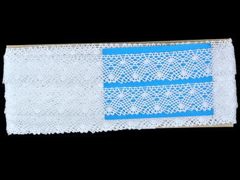 Bobbin lace No. 82198 white | 30 m - 6
