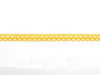 Bobbin lace No. 82302 dark yellow | 30 m - 6
