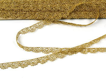 Bobbin lace No. 75337 gold | 30 m - 7