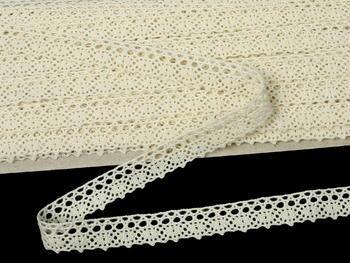 Bobbin lace No. 75367 ecru | 30 m - 7