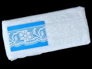 Bobbin lace No. 81035 white | 30 m - 7
