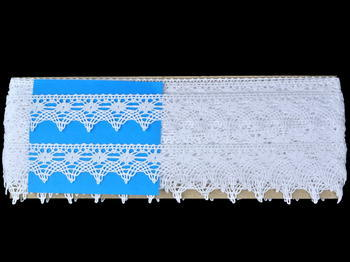 Bobbin lace No. 82150 white | 30 m - 7